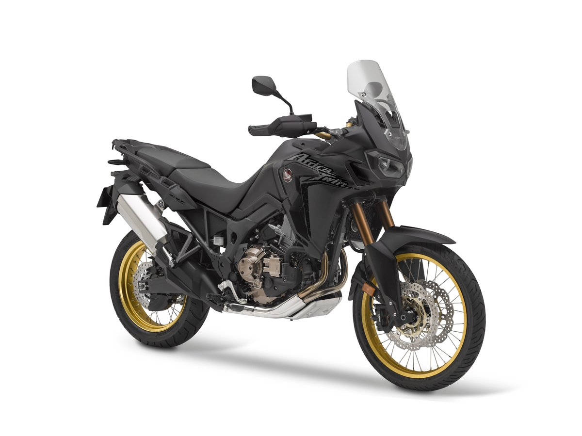 2019 Honda Africa Twin FR34 Matte Black Metallic