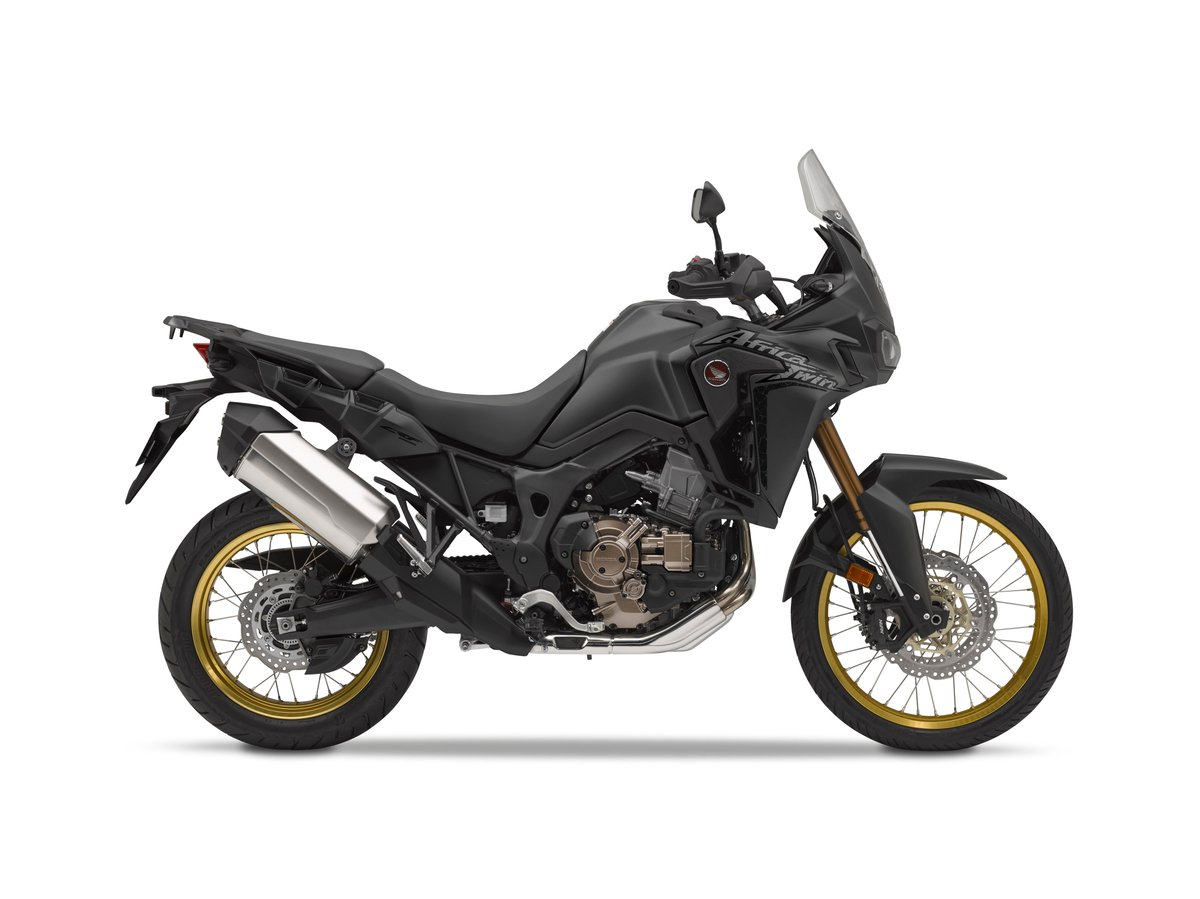2019 Honda Africa Twin RHP Matte Black Metallic